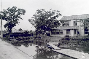 1966年4月室町付近の巴波川.jpg