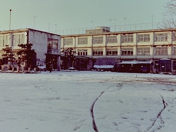 1978年1月雪の第二小.jpg