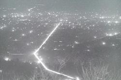 太平山見晴らしからの夜景(1969年1月).jpg