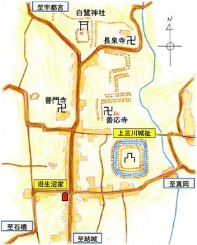 明治初期上三川村略図1.jpg