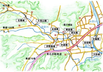 皆川城内付近の河川と橋概略図.jpg