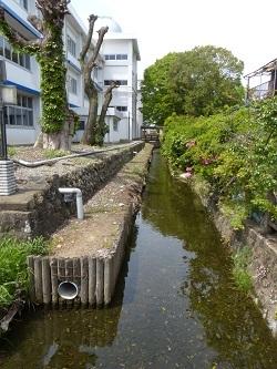 元県庁堀北東角から西方向.jpg