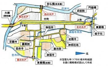 宝暦九年栃木町絵図を基にした概略模式図.jpg