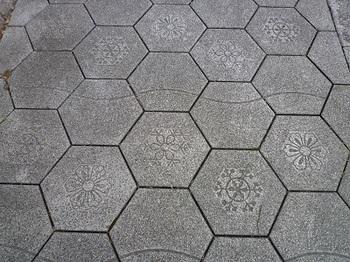 雪華を刻した歩道.jpg